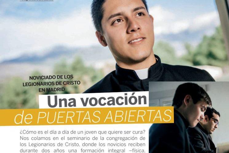 Noviciado de los Legionarios de Cristo en Madrid, en la Revista Misión
