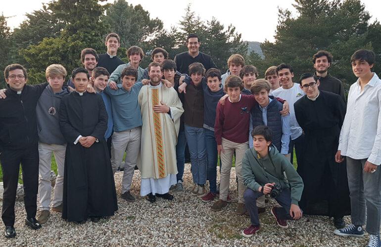 El noviciado de los Legionarios de Cristo en Madrid se convierte en noviciado europeo